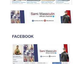 nº 8 pour I need a YouTube + Facebook Cover Image par islamos