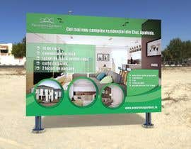 nº 94 pour Simple display banner tension fabric design for a real estate development par rajibrt