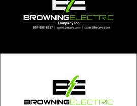 #73 untuk Logo Design for Browning Electric Company Inc. oleh maidenbrands