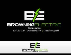 #72 untuk Logo Design for Browning Electric Company Inc. oleh maidenbrands