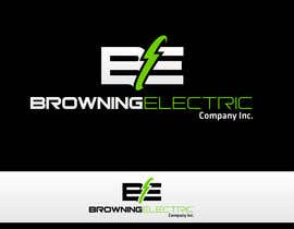 #67 untuk Logo Design for Browning Electric Company Inc. oleh maidenbrands