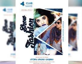 nº 61 pour Design a Flyer for a Fashion Show par joymarma11