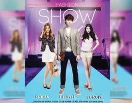 nº 69 pour Design a Flyer for a Fashion Show par joymarma11
