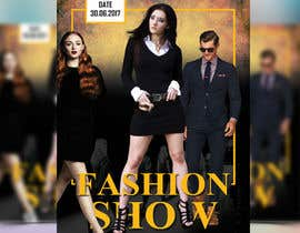 nº 62 pour Design a Flyer for a Fashion Show par reful123