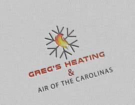 nº 18 pour Gregs Heating and Air Logo par hafiz62