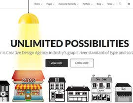 nº 6 pour Design for a website header par debeljic
