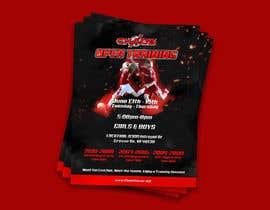 nº 15 pour URGENT Design a Flyer Advertising Open Training for our Club par YKNB