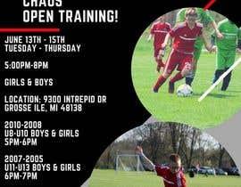 nº 1 pour URGENT Design a Flyer Advertising Open Training for our Club par GenVanessa