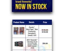 nº 20 pour Fireworks Sales Banners par thranawins