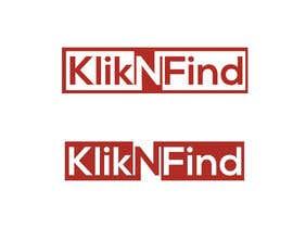 nº 3 pour KliknFind Logo Design par RezaunNobi