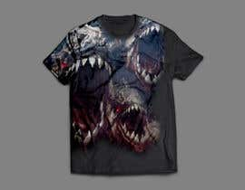 nº 68 pour T shirt fishing Graphic Design par DigitalAnto