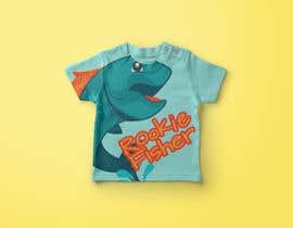 nº 3 pour T shirt fishing Graphic Design par ouzmetu