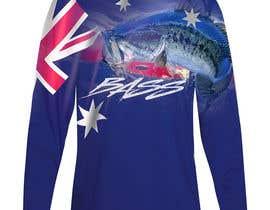 nº 21 pour T shirt fishing Graphic Design par b74design