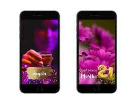 nº 6 pour Design a Birthday Snapchat Filter par ATHULAB