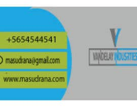 #194 for Design business cards by masudrana8565