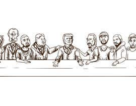 #12 for Illustrate Something parody of the last supper af aghits