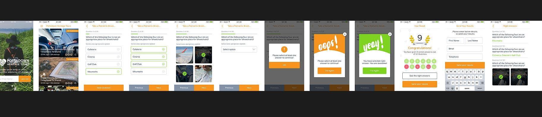 Entry #2 by itBoss1227 for Quiz app development | Freelancer