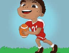 nº 36 pour Illustrator for sports-themed children's book needed par arinakarpova95