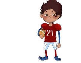 nº 24 pour Illustrator for sports-themed children's book needed par madelandanari