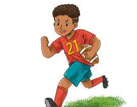 nº 11 pour Illustrator for sports-themed children's book needed par aditgalih