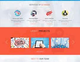 nº 21 pour Design a Website Mockup par rajdesign2009