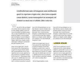 nº 6 pour Design a Magazine layout par zestfreelancer