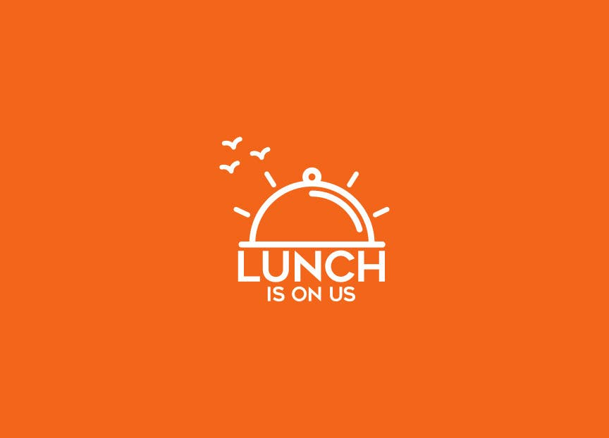 Proposition n°658 du concours Lunch Is On Us Logo