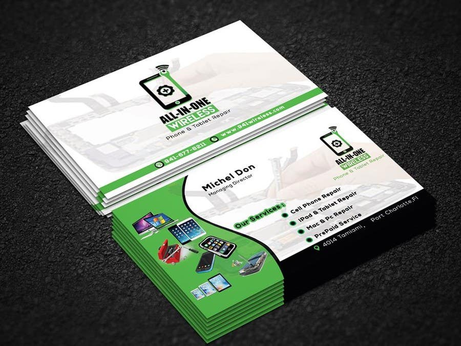 Contest Entry 21 For Business Cards Mobile Repair And Parts S