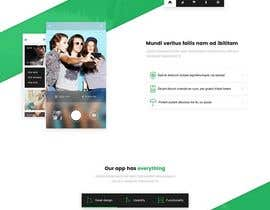nº 11 pour Single page website for a cool tech product par whyssonstudio