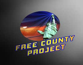 nº 7 pour Logo for the Free County Project par ibrahimhosen333