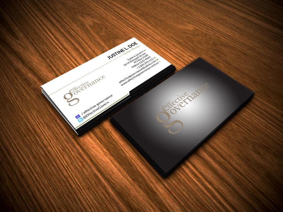 Entry #23 by renelyncamil for Design a business card for Denise ...