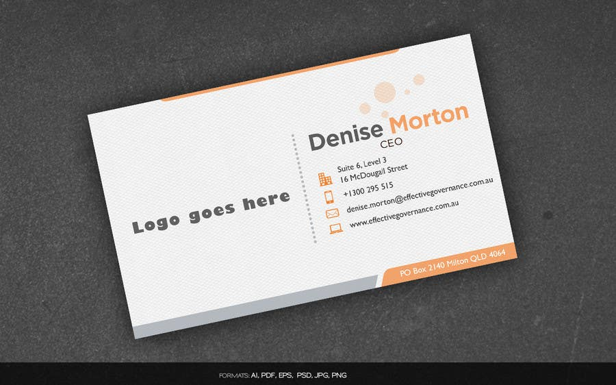 Entry 6 by arnee90 for design a business card for denise morton contest entry 6 for design a business card for denise morton non executive reheart Choice Image