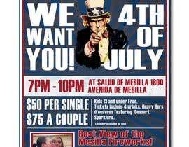 nº 45 pour Flyer for 4th of July par elmerdom
