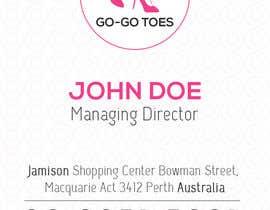 #81 untuk Design a Logo for Go-Go Toes oleh humble29