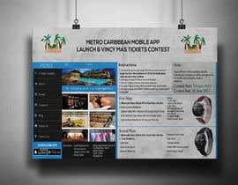 nº 21 pour Metro Caribbean Mobile App Launch Contest par victorartist