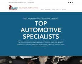 #10 for Design a website for an auto mechanic shop by AlmirDelic12