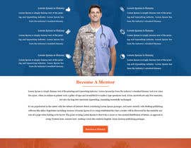 #9 for PSD or AI file of the homepage design. Theme: Military converting into Commercial Working World by ravinderss2014