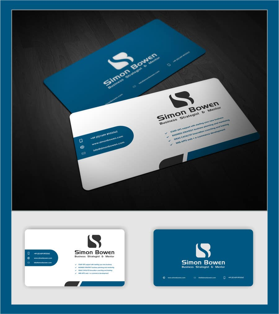 Entry #35 by atikul11 for Design some Business Cards and Word Header ...