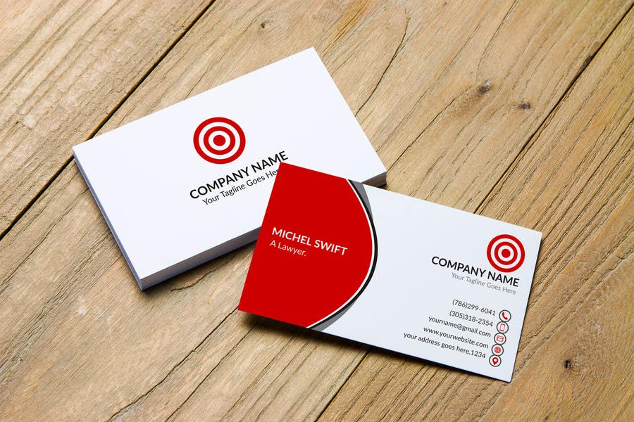 Entry #123 by TahminaB for Design some Business Cards and Word ...