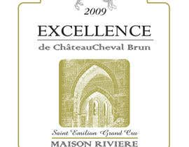 #6 untuk Print & Packaging Design for Excellence Bordeaux Wine oleh scyan