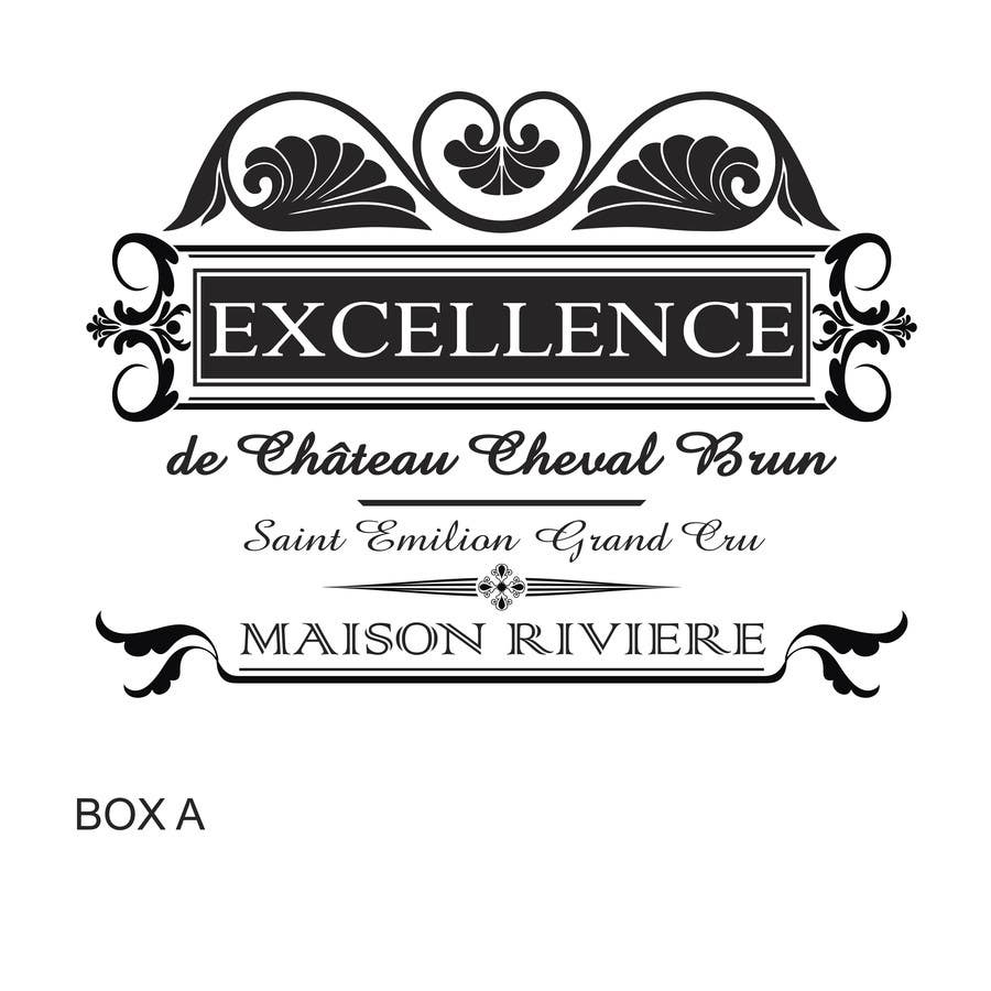 Kilpailutyö #23 kilpailussa Print & Packaging Design for Excellence Bordeaux Wine