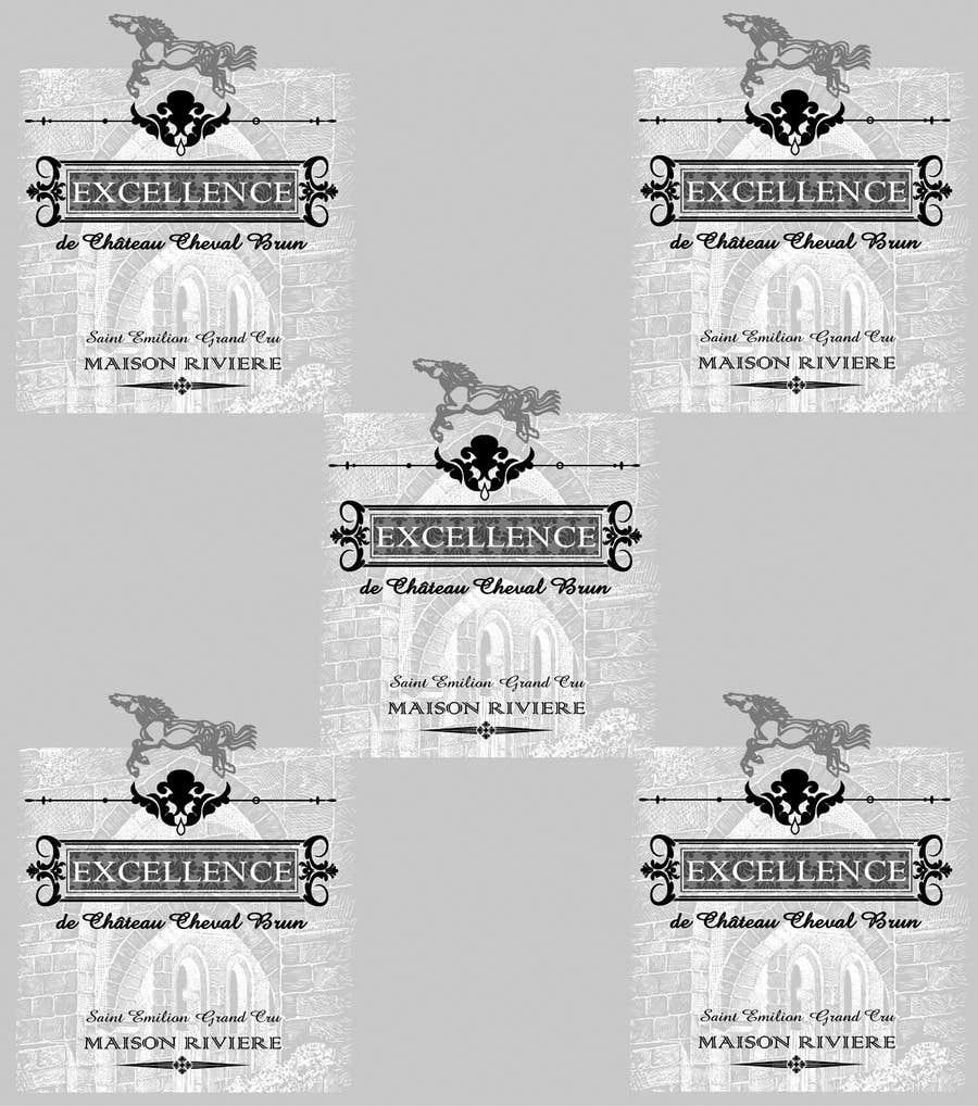 Kilpailutyö #30 kilpailussa Print & Packaging Design for Excellence Bordeaux Wine