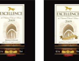 #19 untuk Print & Packaging Design for Excellence Bordeaux Wine oleh TecImag