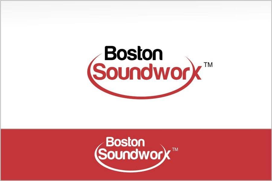 Конкурсная заявка №171 для Amazing Logo Design Needed for Boston Soundworx