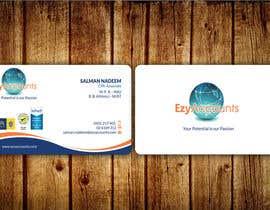 Nro 62 kilpailuun Design some Business Cards for an Accountant käyttäjältä aminur33
