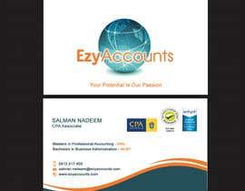Nro 34 kilpailuun Design some Business Cards for an Accountant käyttäjältä SarahDar
