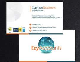 Nro 33 kilpailuun Design some Business Cards for an Accountant käyttäjältä pkrishna7676