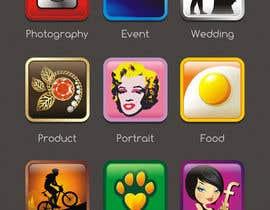 #19 untuk Design 9 Icons oleh Semyonovna