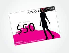 #147 for Stationery Design for HAIR ON DALTON av MarcusPan