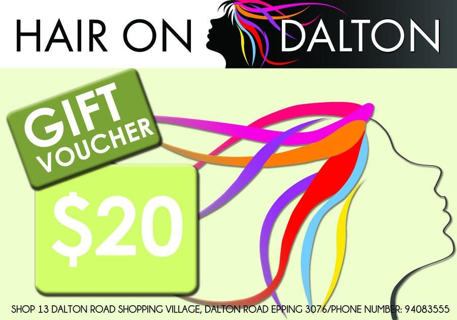 Конкурсная заявка №112 для Stationery Design for HAIR ON DALTON